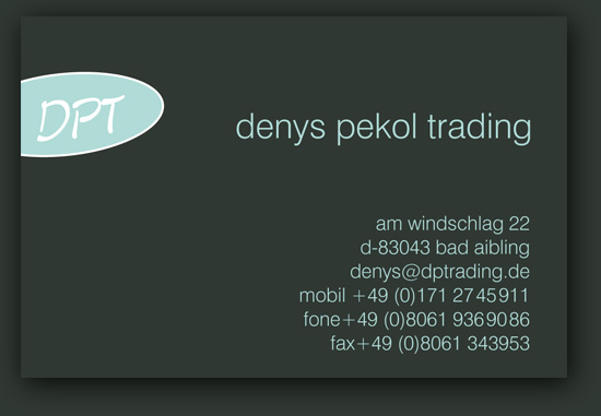 Email an Denys Pekol